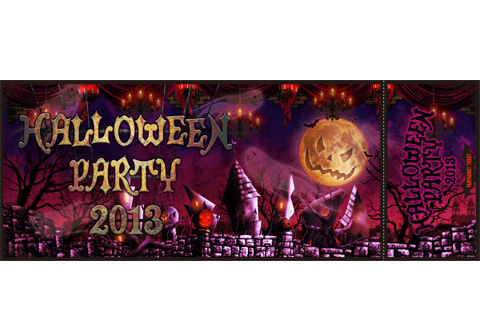 vamps halloween party 2013 チケット c s design